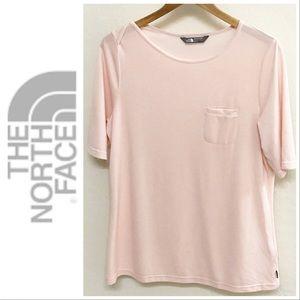 North Face 'Pink Salt' Casual Short Sleeve Top XL